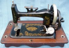 Domestic 'A'. In the 1880's the Domestic Sewing Machine Co. produced two hand machines - the Little Domestic and The Reliable which in mid 1885 were renamed as the Domestic 'A' and Domestic 'B' respectively.