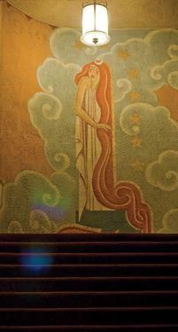 1000 images about murals on pinterest art deco theater for Art nouveau mural