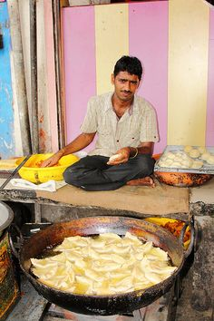 Street Food - Jaipur, Rajasthan #Expo2015 #Milan #WorldsFair   - Explore the World with Travel Nerd Nici, one Country at a Time. http://TravelNerdNici.com