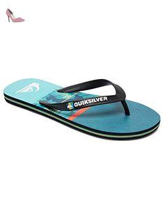 Quiksilver Molokai Carrillo - Flip-Flops - Tongs - Homme - EU 43 - Noir - Chaussures quiksilver (*Partner-Link)