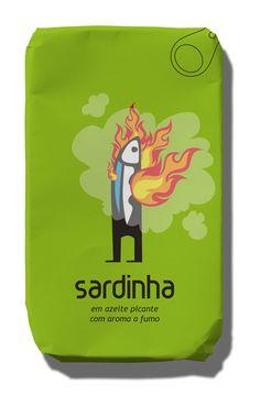 Abancada Sardinha em Azeite Picante com Aroma a Fumo