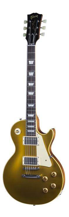 Produced in very limited numbers, the True Historic 1957 Les Paul Goldtop employs appointments reproduced  with molecular-level analysis of original vintage plastics, a double-carved and hand-sanded top and neck, hand wet-sanded finish, hand-filed rolled fingerboard binding and more to deliver an obsessively detailed recreation of an original '57 Goldtop.