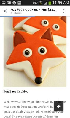 Fox biscuits