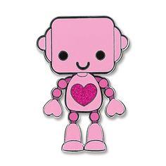Charmit Robot Sticker Charm - $5.00