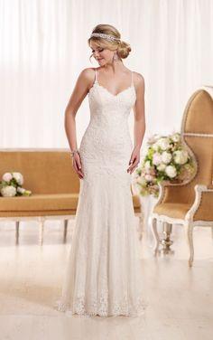 D1934 Sexy Lace Wedding Dress by Essense of Australia