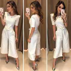 Wonderful Conjuntinho Angelica Set Shopping through the site: www. Cute Fashion, Urban Fashion, Girl Fashion, Fashion Looks, Fashion Outfits, Womens Fashion, Pants Outfits, Cute Outfits, Casual Summer Dresses