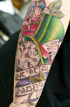 Sandi's tattoo made it to USA Today Tattoo Tuesday