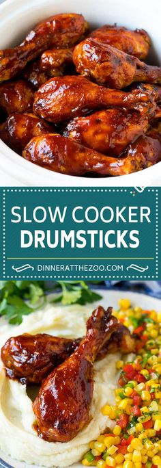 You Have Meals Poisoning More Normally Than You're Thinking That Slow Cooker Chicken Drumsticks Recipe Crock Pot Chicken Drumsticks Bbq Chicken Drumsticks Slow Cooker Huhn, Slow Cooker Recipes, Cooking Recipes, Healthy Recipes, Slow Cooker Dinners, Crock Pot Dinners, Crock Pot Slow Cooker, Vegetarian Recipes, Chicken Drumsticks Slow Cooker