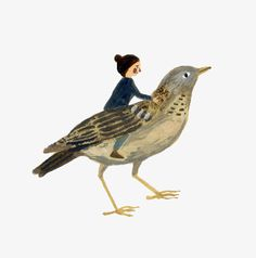 Gemma Koomen 'Bird Friend'. Spring is my favourite season!