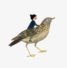 Gemma Koomen 'Bird Friend'. Spring is my favourite season!