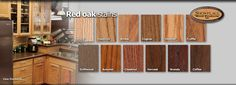 stains for red oak | Product Guide > Wood species overview > Red oak stains