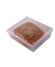 Caixa em Plástico Transparente para Favo de Mel Storage, Honey, See Through, Box, Jars