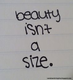 Respect and Love Your Body, No matter whether You are curvy,chubby or skinny !