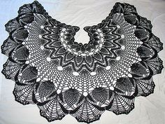 CopperScaleDragon's Gothic lace shawl
