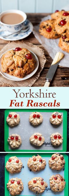 Yorkshire Fat Rascals! A delicious scone-like cake, flecked with citrus and spice and filled with juicy raisins. Served warm from the oven with lashings of butter, they make the perfect afternoon tea.