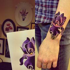 geometric iris