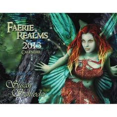 Amazon.com: Susan Schroder 2013 Faerie Realms Fantasy Art Calendar: ***One of my long-time dance friends. She is amazingly talented. denise