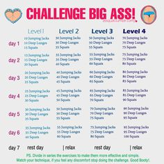 Workout Challenge positively-healthyandfit: Finally someone who understands you can't do 300 sqauts in a day! Almost all other of these types of thinks have like 500 jumping jacks and 300 squats in the end but if you do it right 100 squats is alohot! Fitness Motivation, Fitness Tips, Health Fitness, Daily Motivation, Health Diet, Motivation Inspiration, Health Exercise, Exercise Motivation, Health Care