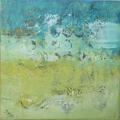 """Dayna Collins Oil & Cold Wax  8x8"""""""
