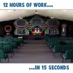 Time lapse setup at Living Water Christian Fellowship in Ithaca, NY  - Instagram video  - (click to play)