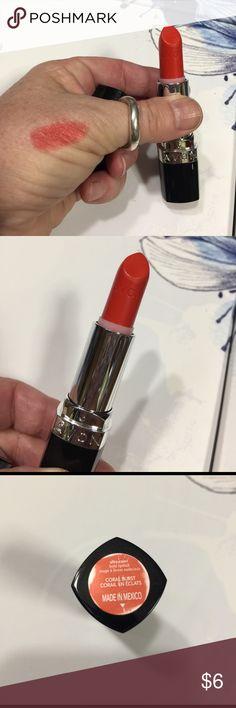 "***LOWEST PRICE***Avon lipstick 💄--NEW NEW Avon lipstick 💄 in ""coral burst"" Ultra Color bold Avon Makeup Lipstick"