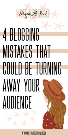 After over three years of blogging (at least one of those not as successful as the others), it has become so clear as to what mistakes I was making as a blogger. Once I realized what those mistakes were, it changed how I blogged, and it changed who my readers were as well. I'm sharing four tips that all bloggers should avoid on the blog today! #bloggingtips #blogtips #bloggingmistakes #blogging