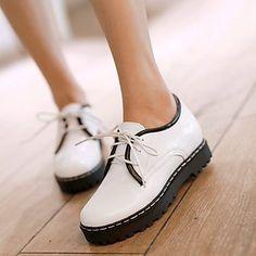 Ruomini Damenschuhe rauhe Ferse Toe Kreis dünne Schuhe mehr Farben , Rosa-US7.5…