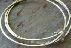 after I'm done having babies, I'll have one made with their names stamped on each bracelet.