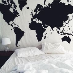 Urban Outfitters Other - SOLD Urban Outfitters - Map Tapestry