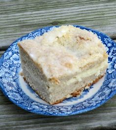 Pine Cones and Acorns: Cream Cheese Coffee Cake
