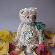 Crossstitch teddy bears handmadebear Teddybär