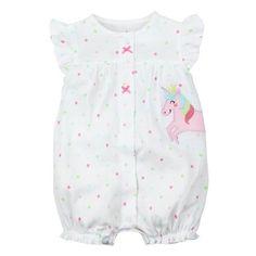 da00ec545 2018 Summer Short Sleeved Jumpsuit For Newborn Romper Character Baby ...