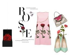 """Roses are red"" by rosen-plamenov-parushev on Polyvore featuring Dolce&Gabbana, Fendi, OKA, Semilla and Don't AsK"
