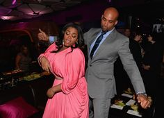 Go, Jill! Go, Jill! GRAMMY-winning songstress Jill Scott breaks it down on the dance floor with actor Boris Kodjoe at the after-party for their new film, Baggage Claim, on Sept. 25 in Los Angeles