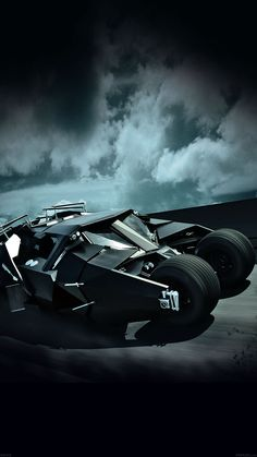BATCAR BATMAN HIGHWAY ART HERO WALLPAPER HD IPHONE