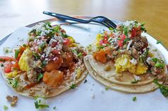 Anyone who visits Austin, Texas is likely to come away with a profound passion for breakfast tacos. Usually constructed with scrambled eggs, refried beans, pico de gallo, yellow cheese, and...