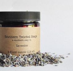 Lavender Body Lotion  Essential Oil by SouthernTwistedSoaps
