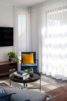 These vertisheer blinds by Half Price Blinds can reduce daytime glare in your living room (perfect for weekend binge-watching! Browse our range online. Cheap Blinds, Diy Blinds, Indoor Blinds, Blinds Online, Big Bedrooms, Diy Shutters, Custom Blinds, Home Curtains, Window Treatments