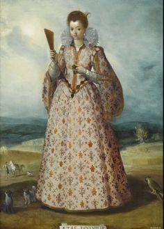 산티 디 티토(Santi di Tito)  젊음, 16세기경  패널에 유채(Huile sur bois), 76 x 54 cm  페슈 미술관 소장      젊은 여성의 초상이지만 주변의 배경이 의미심장하다.  초상 대상을 극대화 하고 주변 배경을 작게 함으로 집중시키고 있다.