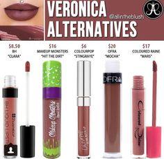 Abh liquid lipstick in Veronica // @kathrynglee123