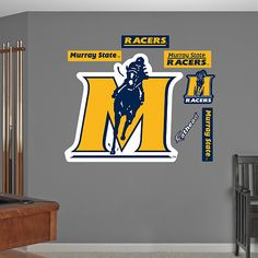 Murray State Racers Logo For Walls