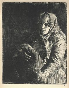 A Swedish Madonna, 1900, Anders Zorn