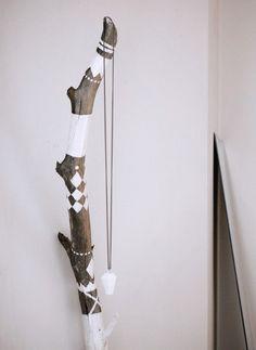 DIY painted wood - branch - stick - ROOM and serve - blogg om inredning - decor