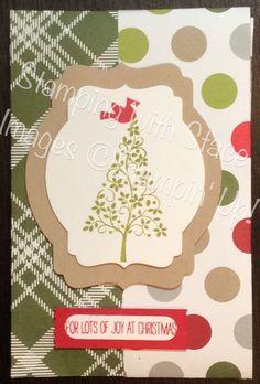 festival of trees note card holder