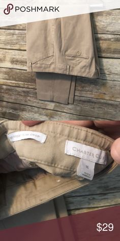 214f7665c73 Charter club ankle stretch khaki pants. These are the perfect khaki pants for  plus size