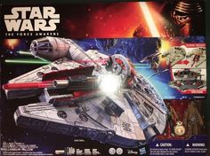 New Star Wars The Force Awakens Battle Action Millennium Falcon Nerf Launcher | eBay