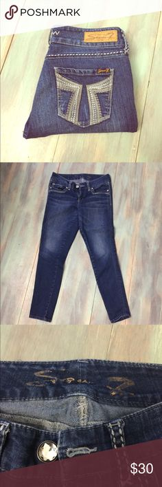 Seven7 skinny jeans Great condition skinny jeans! Brand Seven7 legging fit. Seven7 Jeans Skinny