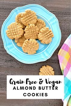 this #vegan #glutenfree #grainfree recipe has variations for your favorite style cookie (crunchy, ball, traditional). they have all of the tasty nostalgia of childhood peanut butter cookies.
