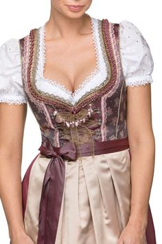 Dirndl Whitney Dirndl Dress, Corsage, Ruffles, Bodice, Couture, Backstage, Lace, Womens Fashion, Fabric