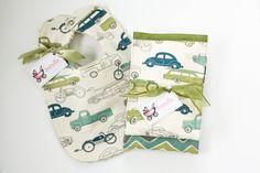 Burp the Baby Vintage Ride Set by BundleBaby on Etsy